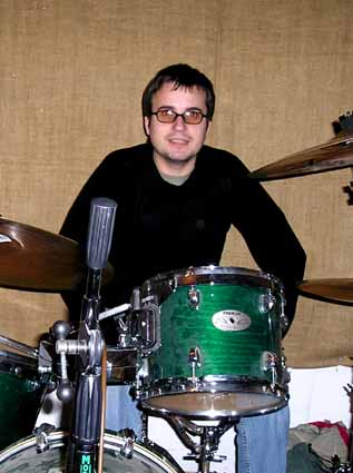 Mat at a TLT rehearsal, possibly in 2004.